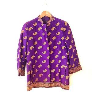 Vintage Carla Zampatti Blazer Paisley Jacket